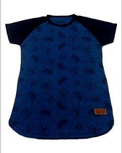 Camiseta Juvenil Spider - Man Azul