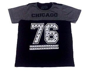 Camiseta Preto Juvenil