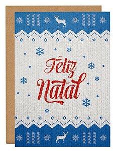 Cartão Natal Suéter