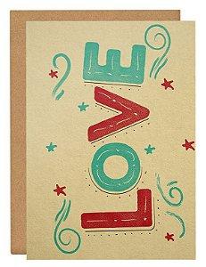 Cartão Love 3