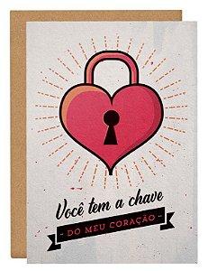 Cartão Você tem a chave