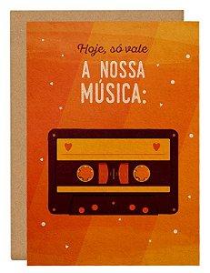 Cartão Nossa música