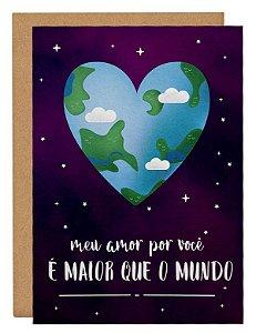 Cartão Amor gigante