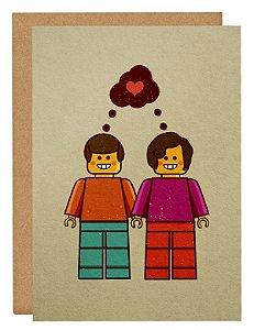 Cartão Lego