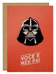Cartão Star Wars - Vermelho