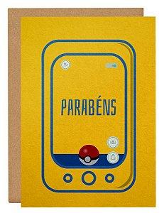 Cartão Pokemon Go