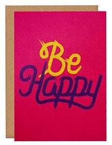 Cartão Be Happy