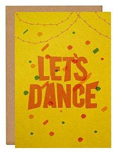 Cartão Let's dance
