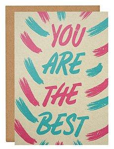 Cartão The best