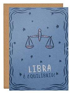 Cartão Horóscopo Libra