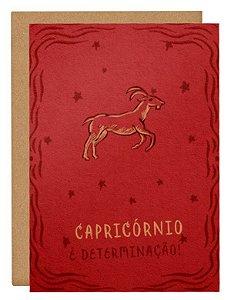 Cartão Horóscopo Capricórnio