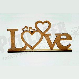 Nome Love MDF cru
