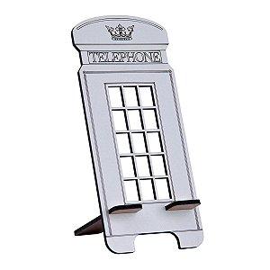 Porta Celular Modelo Cabine Telefônica