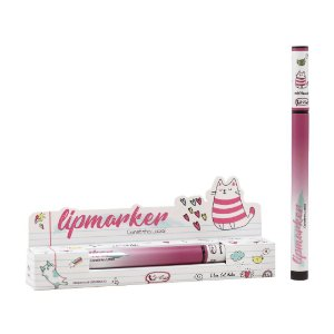 CANETINHA LABIAL LIPMARKER FRIENDS - CAT MAKE