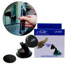 Suporte Magnético Black Lelong para Celular