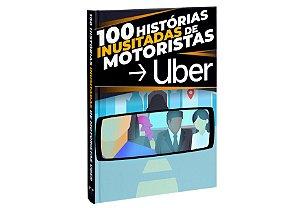 """1 unidade do Livro """"100 Histórias Inusitadas de Motoristas Uber"""""""