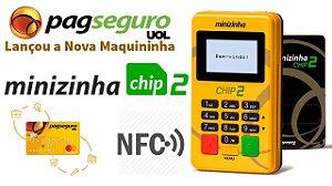 Maquininha de cartão Minizinha Chip 2 Pagseguro