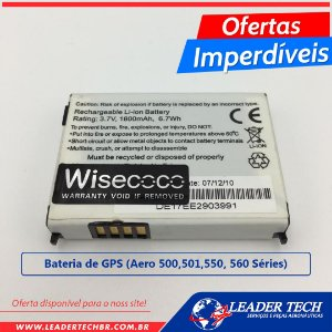 Bateria de GPS - Aero 500, 501, 550, 560, Séries