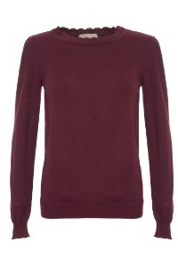 TRICOT MARY BURGUNDY
