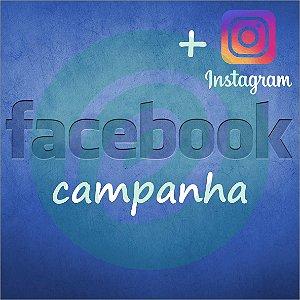 Campanha de Facebook / Instagram