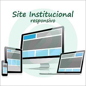 Estrutura de Site Institucional