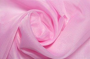 Tecido Voil/Voal Rosa ( 0,50 m x 3 m )