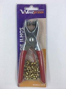 Alicate Vazador e Colocador de Ilhós Westpress T0013