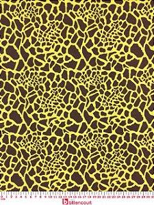 Tricoline Estampa Girafa Bittencourt ( 0,50 m x 1,40 m )