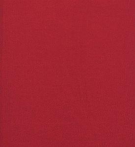 Tricoline Liso Vermelho Bittencourt ( 0,50 m x 1,40 m )