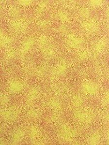 Tricoline Poeirinha Tons de Amarelo Bittencourt ( 0,50 m x 1,40 m )