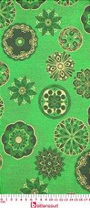 Tricoline Mandala Verde Fernando Maluhy ( 0,50 m x 1,40 m )