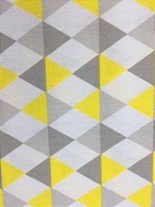 Tricoline Geométrico Losango Caldeira ( 0,50 m x 1,40 m )
