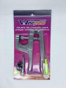 Alicate de Pressão Pregar Botões de Plástico Westpress ID:17514