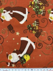 Tricoline Papai Noel e os Presentes ( 0,50 m x 1,40 m )