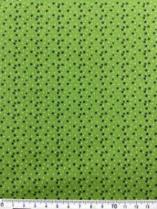 Tricoline Composê Verde Círculo ( 0,50 m x 1,40 m )