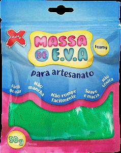 MASSA DE EVA P/ ARTESANATO 50 G - VERDE ESCURO
