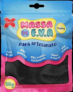 MASSA DE EVA P/ ARTESANATO 50 G - PRETO