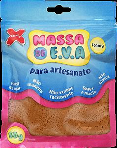 MASSA DE EVA P/ ARTESANATO 50 G - MARROM