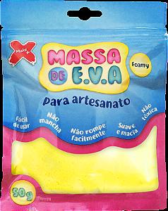 MASSA DE EVA P/ ARTESANATO 50 G - AMARELO