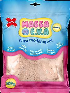 MASSA DE EVA P/ ARTESANATO 250 G - BEGE