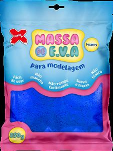 MASSA DE EVA P/ ARTESANATO 250 G - AZUL ESCURO