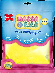 MASSA DE EVA P/ ARTESANATO 250 G - AMARELO