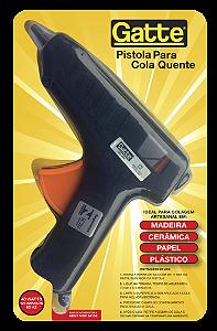 Pistola de Cola Quente Bastão Grosso 40 W Gatte