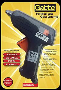 Pistola de Cola Quente Bastão Fino 10 W Gatte