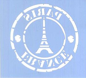 ESTÊNCIL JA 166 10 X 10 PARIS