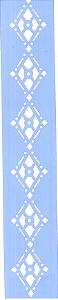 STENCIL JK 307 4 X 30 GEOMÉTRICO