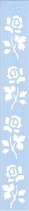 STENCIL JK 368 4 X 30 ROSAS