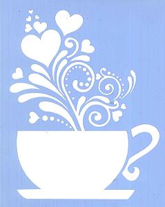 ESTÊNCIL JC 1204 15 X 20 CAFÉ