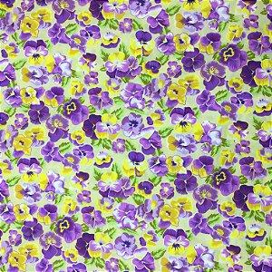 Tricoline Floral 4 ( 0,50 m x 1,40 m )