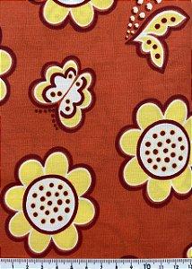 Tricoline Floral 6 ( 0,50 m x 1,40 m )